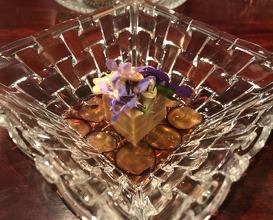 Foie Gras Miso/ Grapes/ Sake
