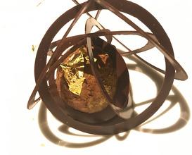 Chestnut ganache of chestnut, three citrus filling (mikan, dekopon and hyuganatsu) with different chocolate rings