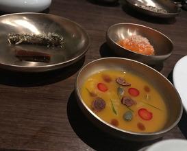 Dinner at Benu