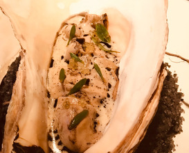 Grilled Helford Oyster