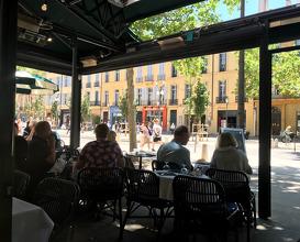 Lunch at Côté Cour