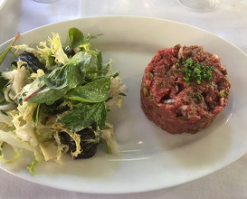 Lunch at Côté Cour