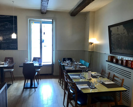 Dining room and menu