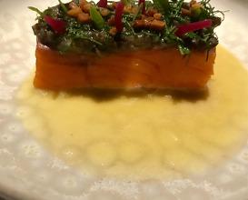 Trout. snails. Chignin-Bergeron sauce