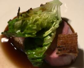 TEXEL LAMB Brisket, saddle & baby gem lettuce