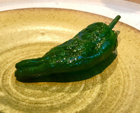barbecued pepper