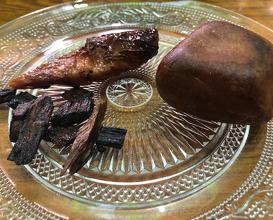 Vegan ribs made from homemade Yuba