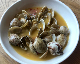 Vongole with white wine