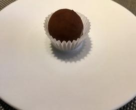 """«ШОКОЛАДНЫЙ ТРЮФЕЛЬ» С ФУА-ГРА """"Chocolate truffle""""with foie gras"""