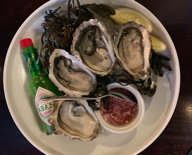 Whitstable Rock Oysters £3 each