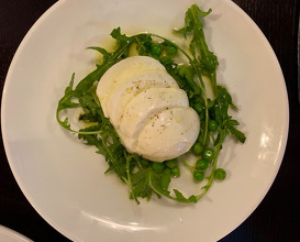 Mozzarella di Bufala*, Peas & Mint £12
