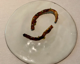 Lamb | Green asparagus I Chinchulin I Chimichurri