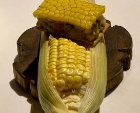 Oyster & Corn tartar