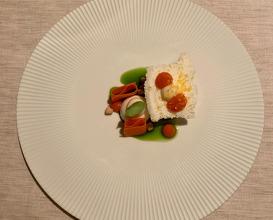 Almond, basil, carrot