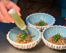 Squid Lemon oil, sheep sorrel