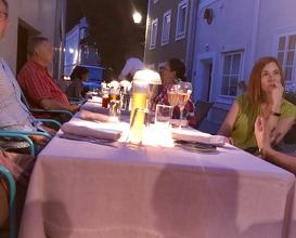 Dinner at Maier's Gastro KG