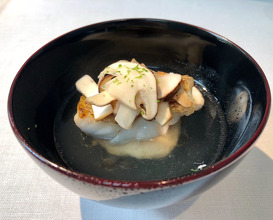 Kagoshima Rosy Seabass, Ishikawa Matsutake