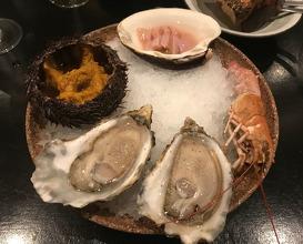 Dinner at Restaurant ILUKA