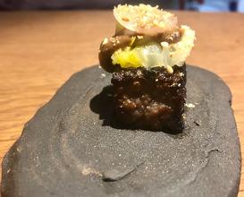 Welsh Wagyu Burger & Salt Wagyu Rib Shiitake Seaweed