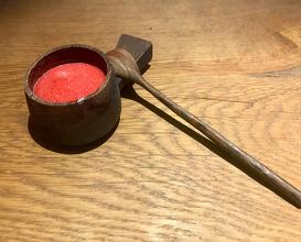 Fermented Raspberry slushy