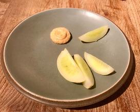 Cucumber & cods' roe