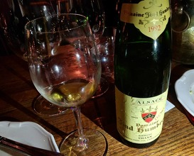 Dinner at Compagnie des Vins Surnaturels Centre Street