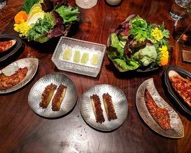 Dinner at SAISON