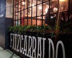 Dinner at Fitzcarraldo Projects
