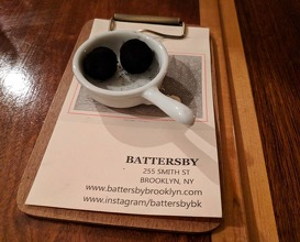 Dinner at Battersby