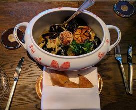 Dinner at Mandarin Oriental, New York