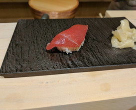 Dinner at Omakase Room by Tatsu