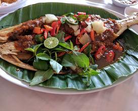 Dinner at Layar Seafood Jakarta