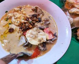 Dinner at Sop Kaki Kambing Dudung Roxy