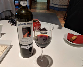Dinner at Restaurante L'Escaleta