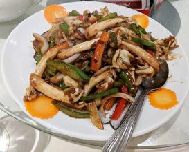 Dinner at Wu's Wonton King