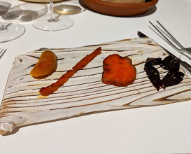 Dinner at Quique Dacosta Restaurante