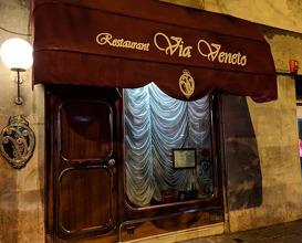 Dinner at Via Veneto Restaurant, Barcelona