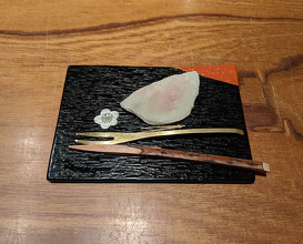 Dinner at Kajitsu Shojin Cuisine