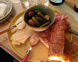 Dinner at Niche Niche