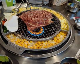 Dinner at Kang Ho Dong Baekjeong - Koreatown NYC