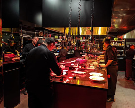 Dinner at L'Atelier de Joël Robuchon New York