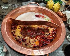 Dinner at Tang Hotpot