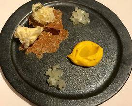 Tete de Moine, pumpkin, sourdough
