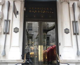 Meal at Kerridge's Bar and Grill