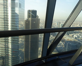 Meal at Helix at The Gherkin