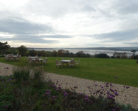 Meal at Lympstone Manor