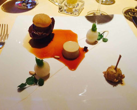 Meal at The Dining Room at Whatley Manor