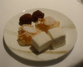 Meal at Locanda Locatelli