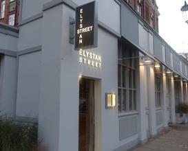 Meal at Elystan Street