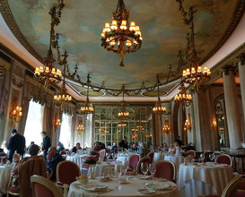 Meal at The Ritz